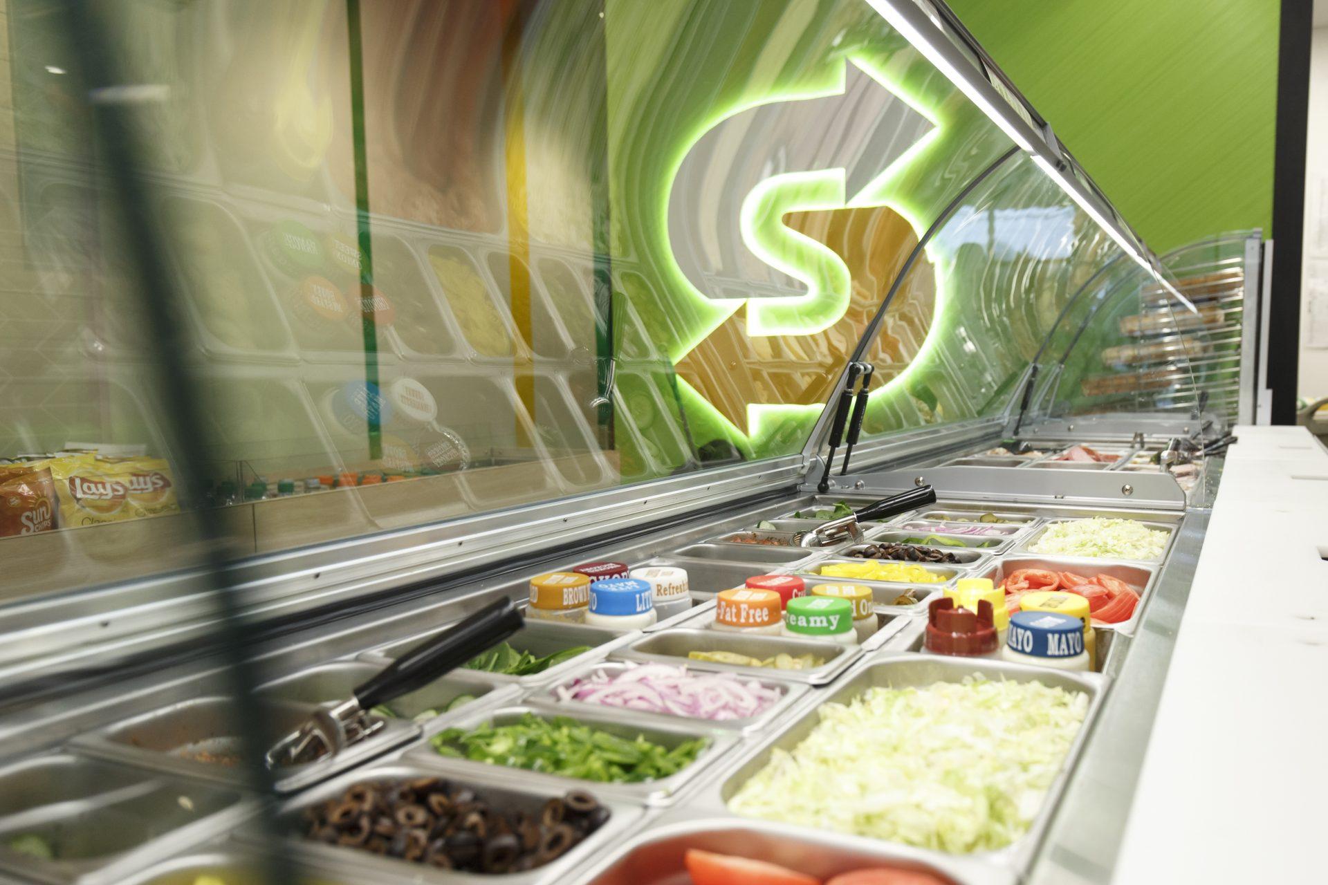 Niet-traditionele Subway restaurants als groeisegment
