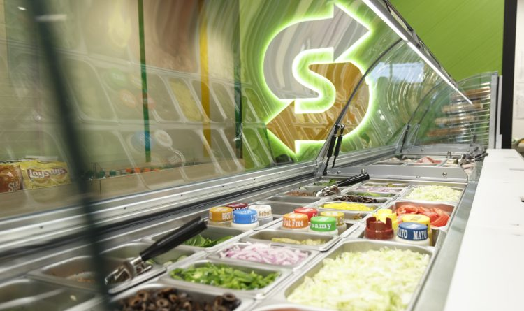 Niet-traditionele Subway restaurants als groeisegment