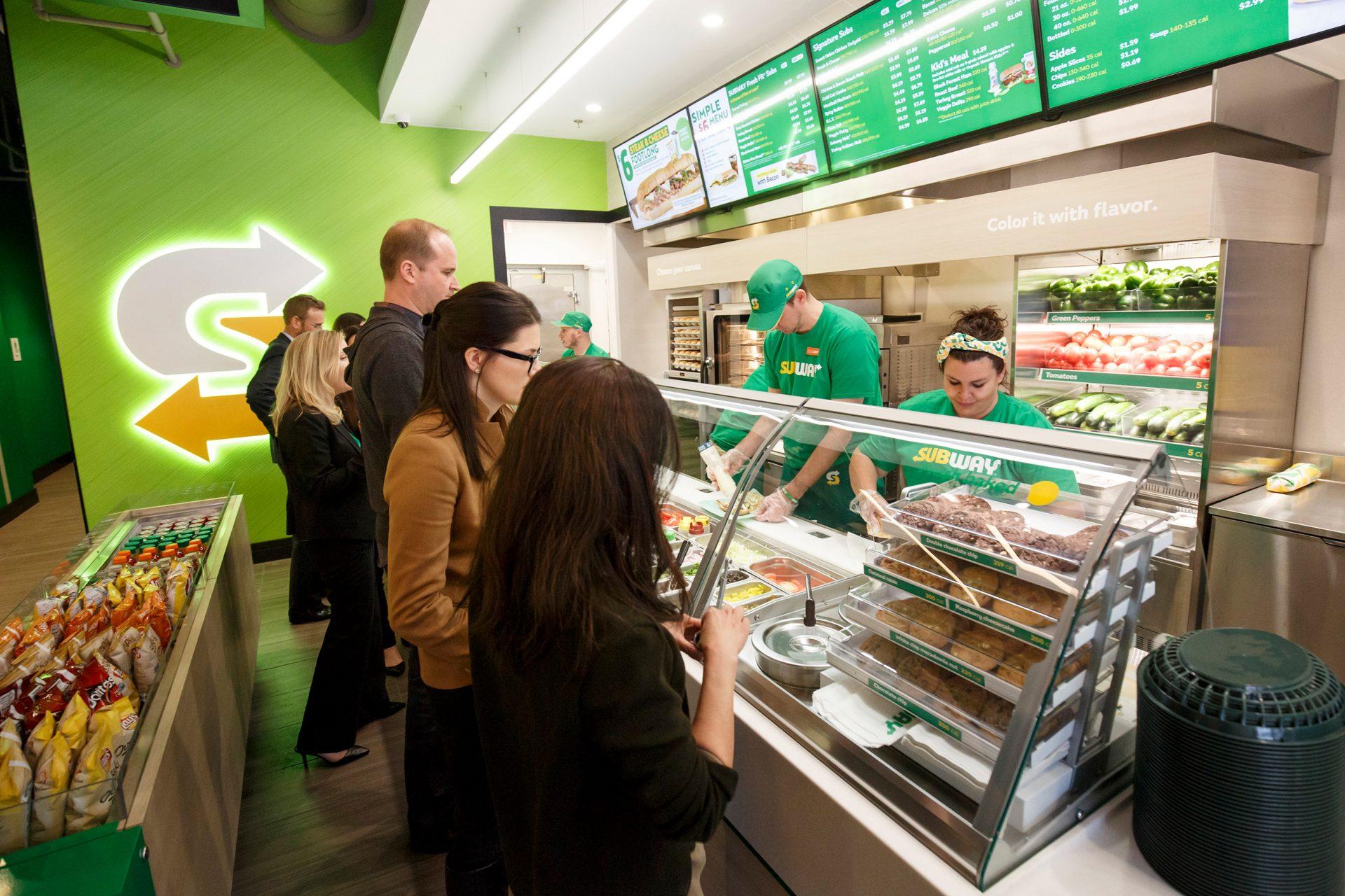 Subway franchisenemers Bart and Marissa Deschynkel – een dream team!