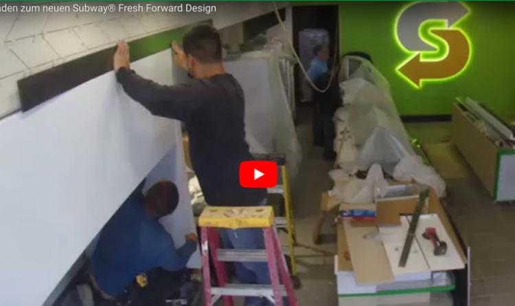In 90 seconden over op het nieuwe Subway Fresh Forward Design