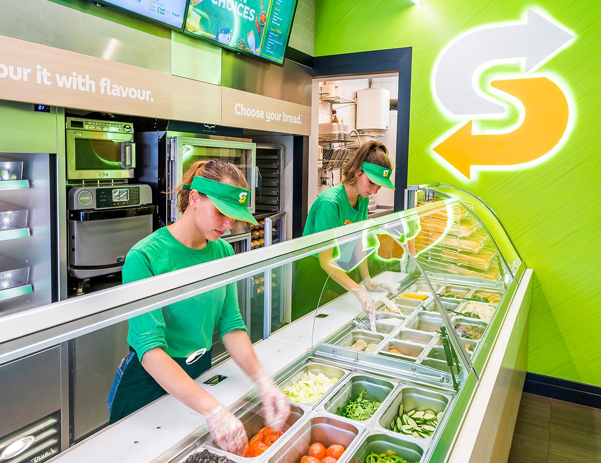 Jonge franchisenemer kiest voor Subway
