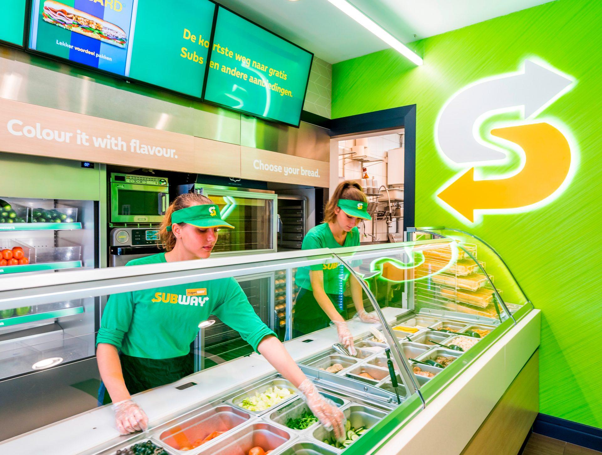 Subway zoekt franchisenemers in Amersfoort!